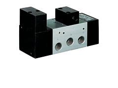 Клапан осциляційний, управління пневматичне