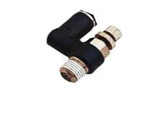 Клапан зворотньо-дросельний для пневмоциліндрів, серія BLUELINE