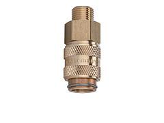 Швидкознім двосторонній з клапаном DN 5