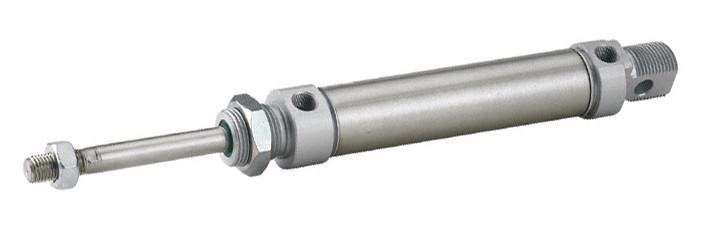 Пневмоциліндр DNM SEA - односторонньої дії (висув пружиною)