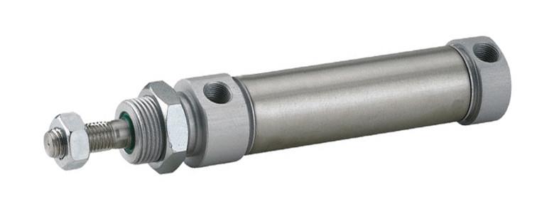 Пневмоциліндр DNMR з одностороннім штоком (без підключення з тилу)