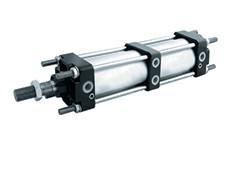 Пневматичний циліндр CNOMO PCM BS - двоштоковий