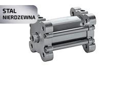Пневмоциліндр NSKN з нержавіючої сталі AISI 316L (ISO 21287)