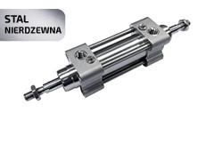 Пневмоциліндр з нержавіючої сталі AISI 304 XJSS з двостороннім штоком