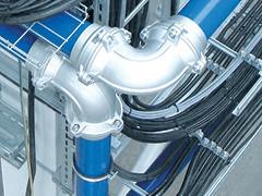 Алюмінієві пневматичні мережі - система INFINITY