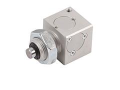 Блок затискач на шток пневмоциліндра (ISO 6432)