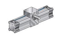 Пневмоциліндр поворотний (маятниковий) CRW з шестернею (вал)
