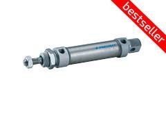 Пневмоциліндр завальцований ANM/DNM D8-63 (ISO6432 діаметри D8-25)