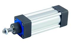 Пневмоциліндр PSC з металевим скребком (ISO 6431/15552)