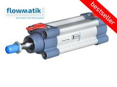 Пневмоциліндр Flowmatik (ISO 6431/15552)