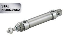 Пневмоциліндр DNMS/ANMS з нержавіючої сталі AISI 304 (ISO 6432)